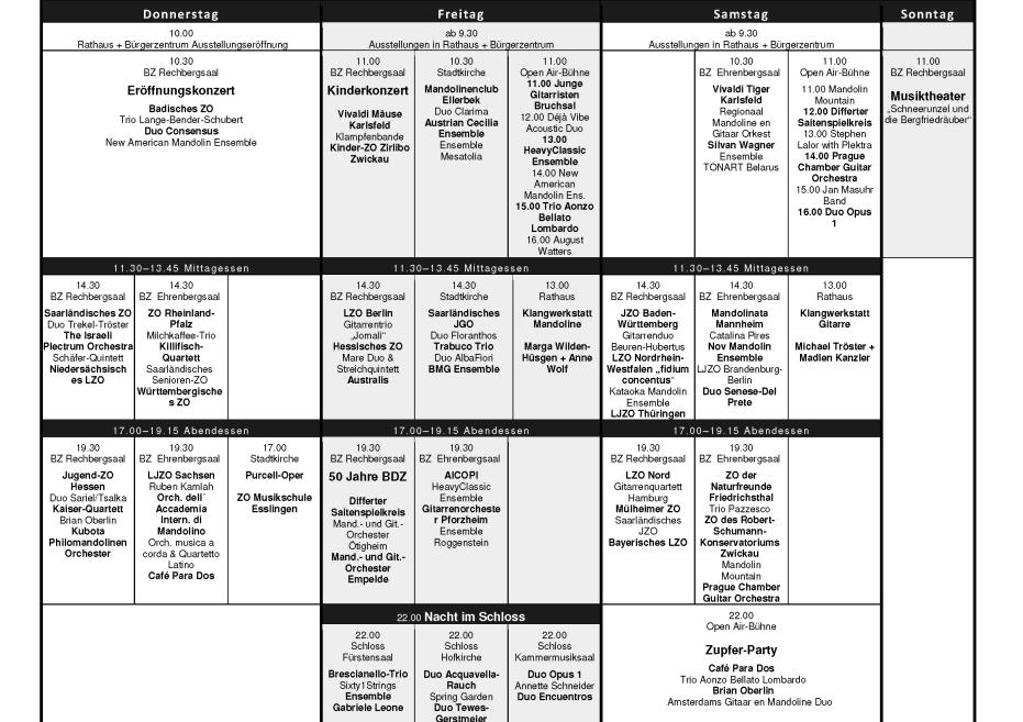 Eurofestival Program 2014-1