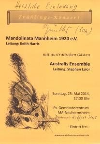 Mannheim Concert